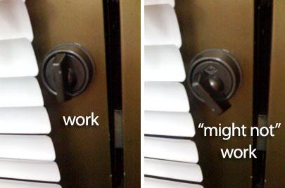Tricky Door Lock