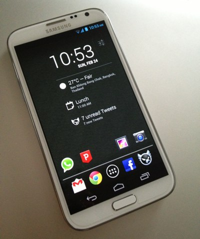 Pure Galaxy Note II