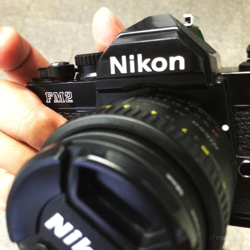 Nikon FM2n + 50mm